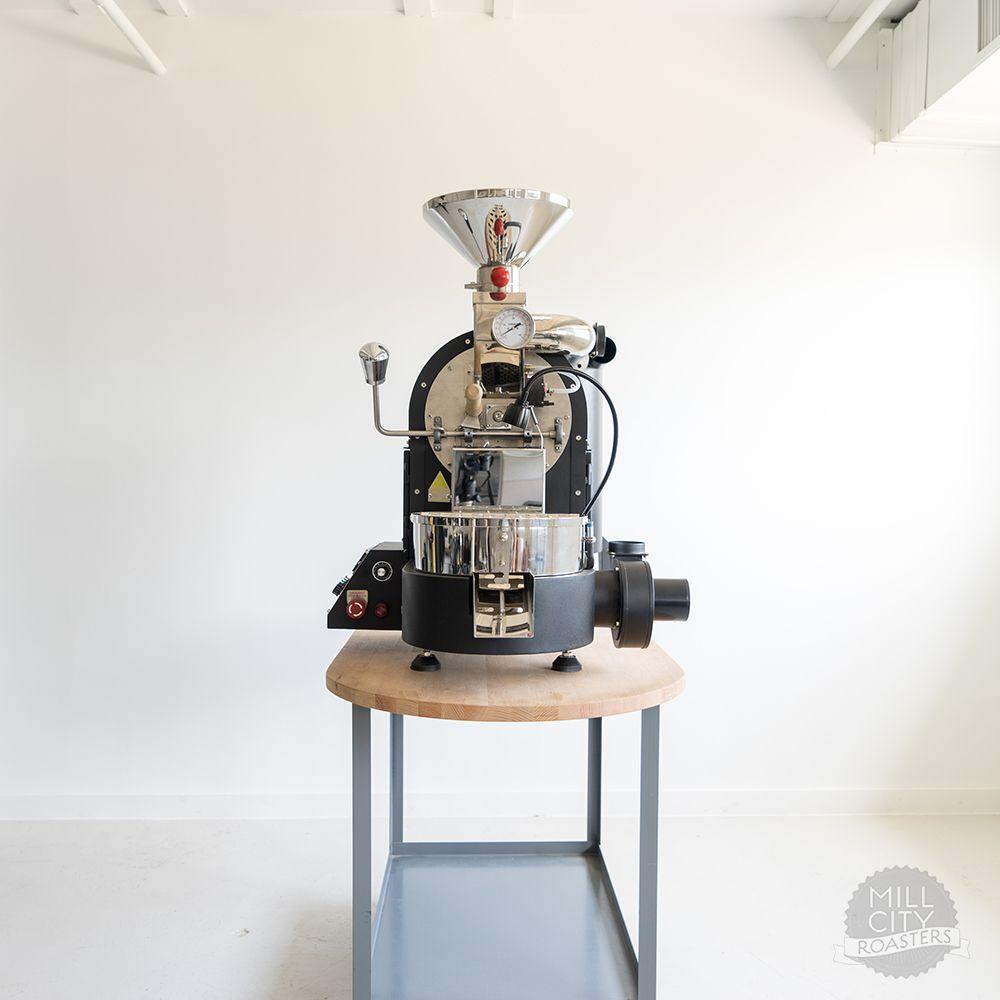 Mcr 1kg Gas Coffee Roaster Photo 7 Coffee Roasters Roaster Gourmet Coffee