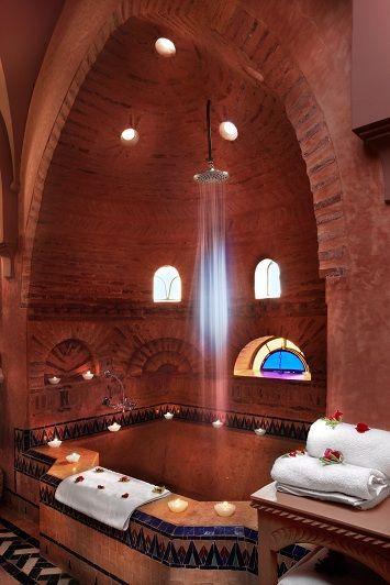 oriental bath vaults hammam style in our bathrooms hotel les deux tours marrakech palmeraie. Black Bedroom Furniture Sets. Home Design Ideas