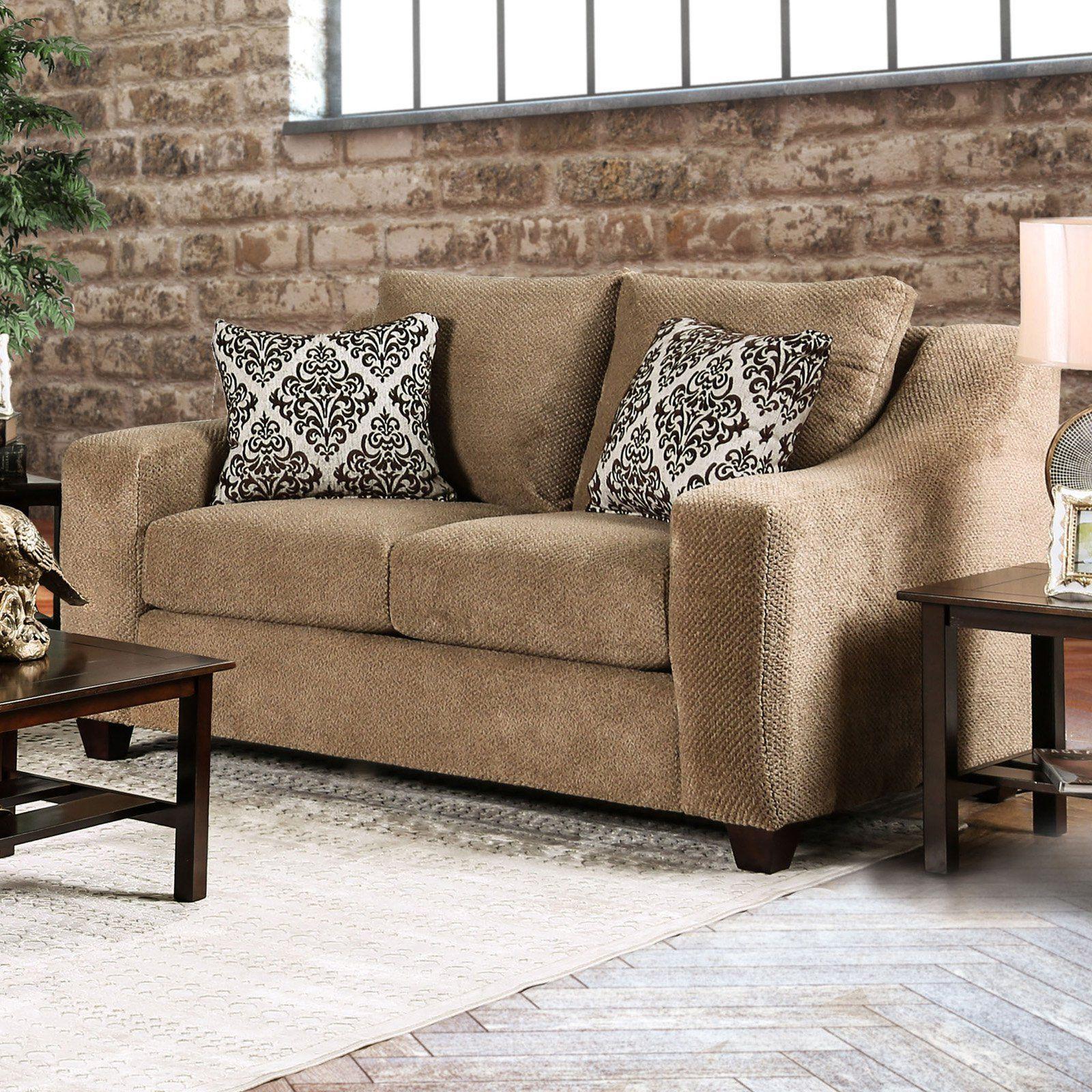 Super Furniture Of America Cowan Microfiber Loveseat In 2019 Ncnpc Chair Design For Home Ncnpcorg