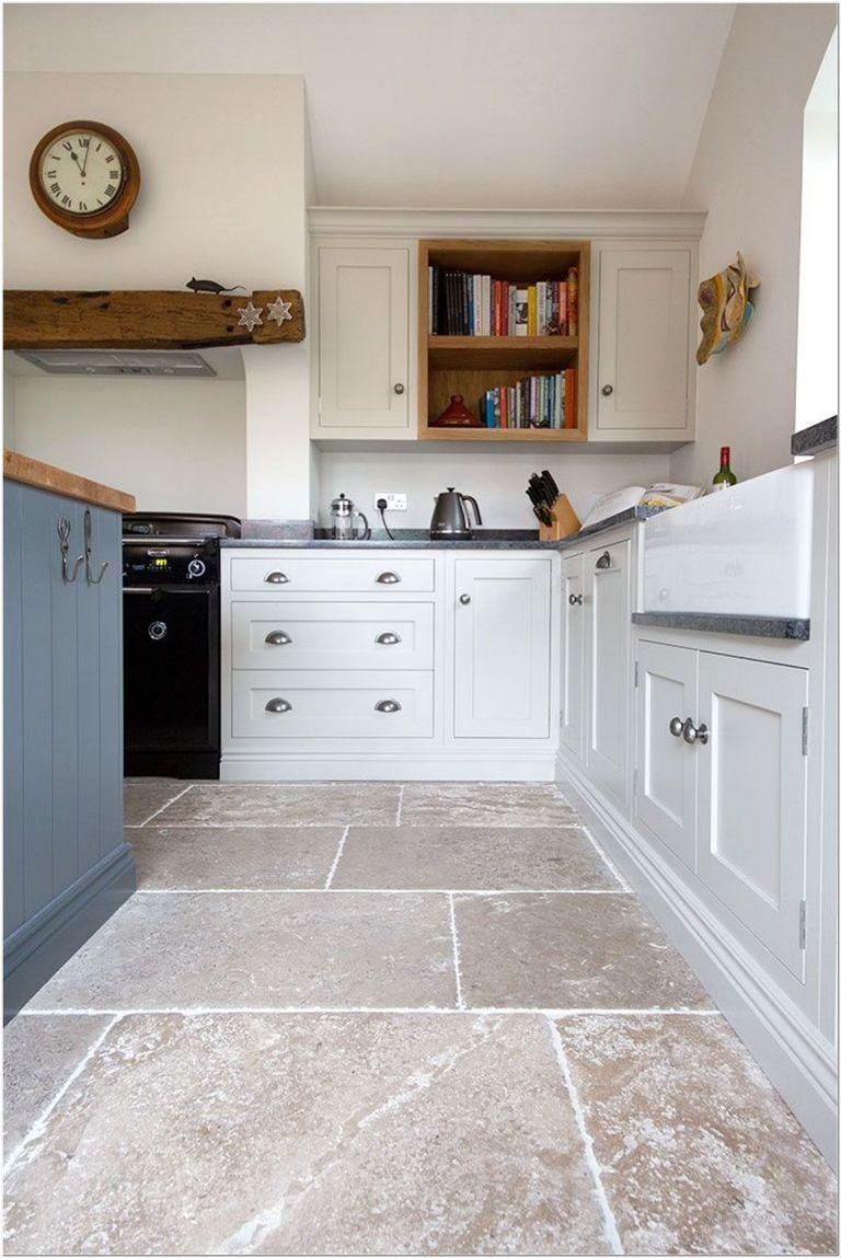 68 Hexagon Concrete Tile Flooring Ideas For Your Kitchen 2 Country Kitchen Flooring Stone Kitchen Floor Rustic Flooring