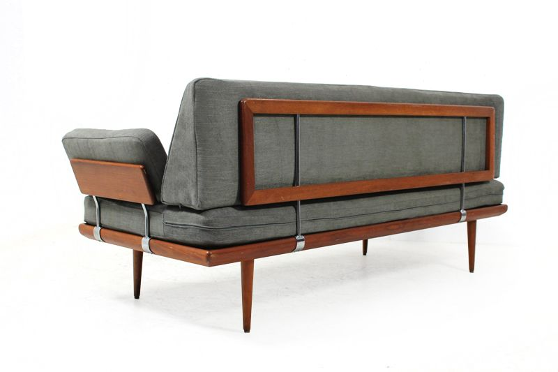 Sofa 60er Stil 50s And 60s Furniture | 60er Teak Sofa L Daybed L Peter