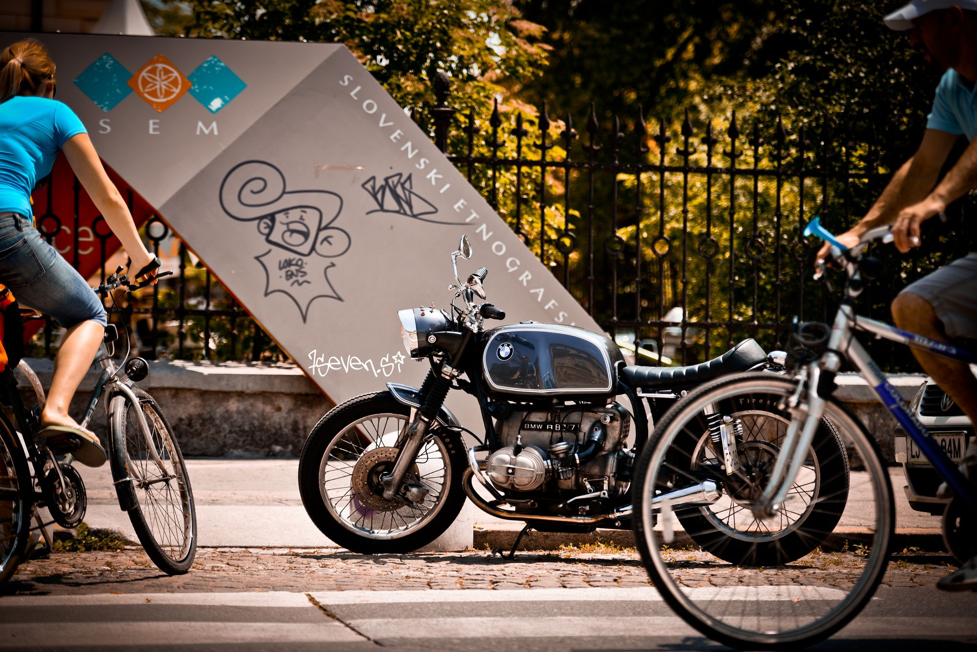Hell Kustom : Honda CB750F By 7Seven Customs