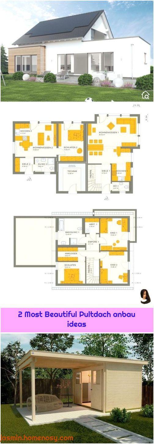 1. Einfamilienhaus Grundriss mit Einliegerwohnung im