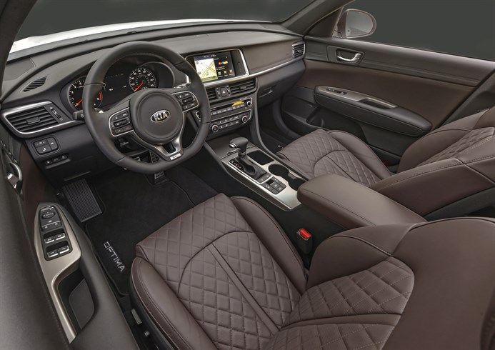 2017 kia optima sxl interior carstuff pinterest kia optima the all new 2016 kia optimas roomier more luxurious cabin features an impressive level of craftsmanship that will come standard across five trim levels sciox Images