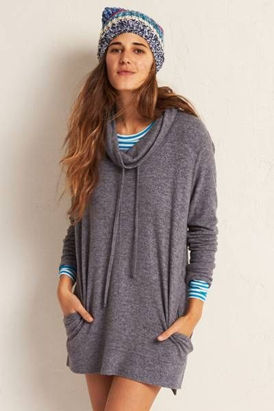 Aerie Cowl Neck Sweatshirt  by AERIE | Daydreamers, we've got you covered.  Shop the Aerie Cowl Neck Sweatshirt  and check out more at AE.com.