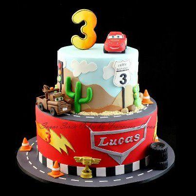 Cars cake by Sugar Siren