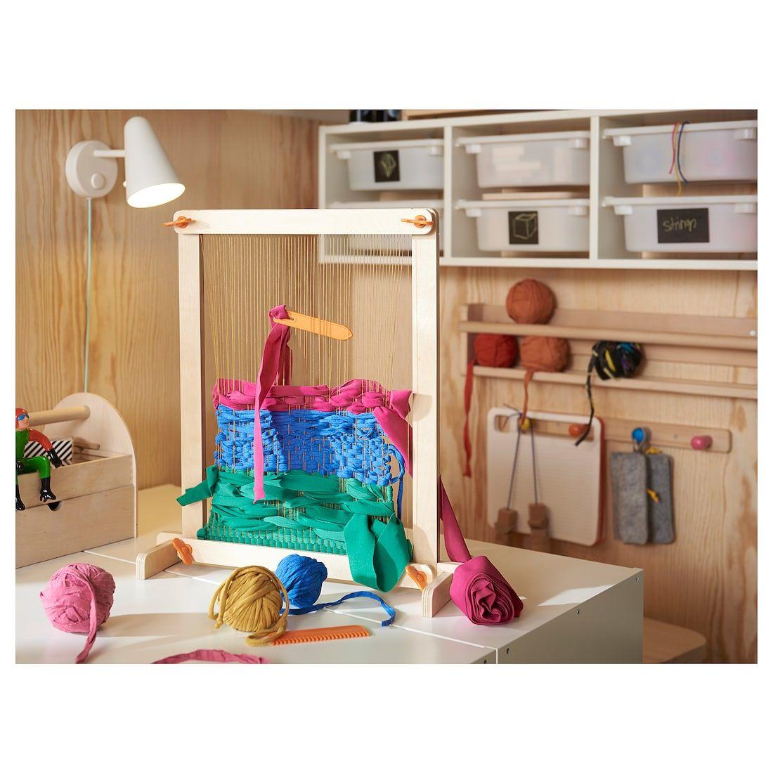 Lustigt 7 Piece Weaving Loom Set Nice Idea Home Decor
