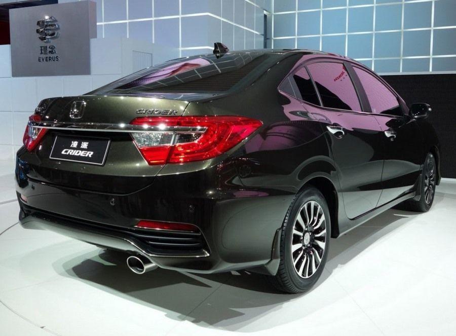 2014 Honda Crider Back Angle - Automotive Pictures ...