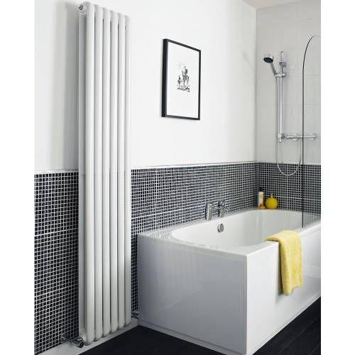 Design heizk rper 2 lagig vertikal heizung wei heizk rper badezimmer design heizk rper Designer heizung wohnzimmer