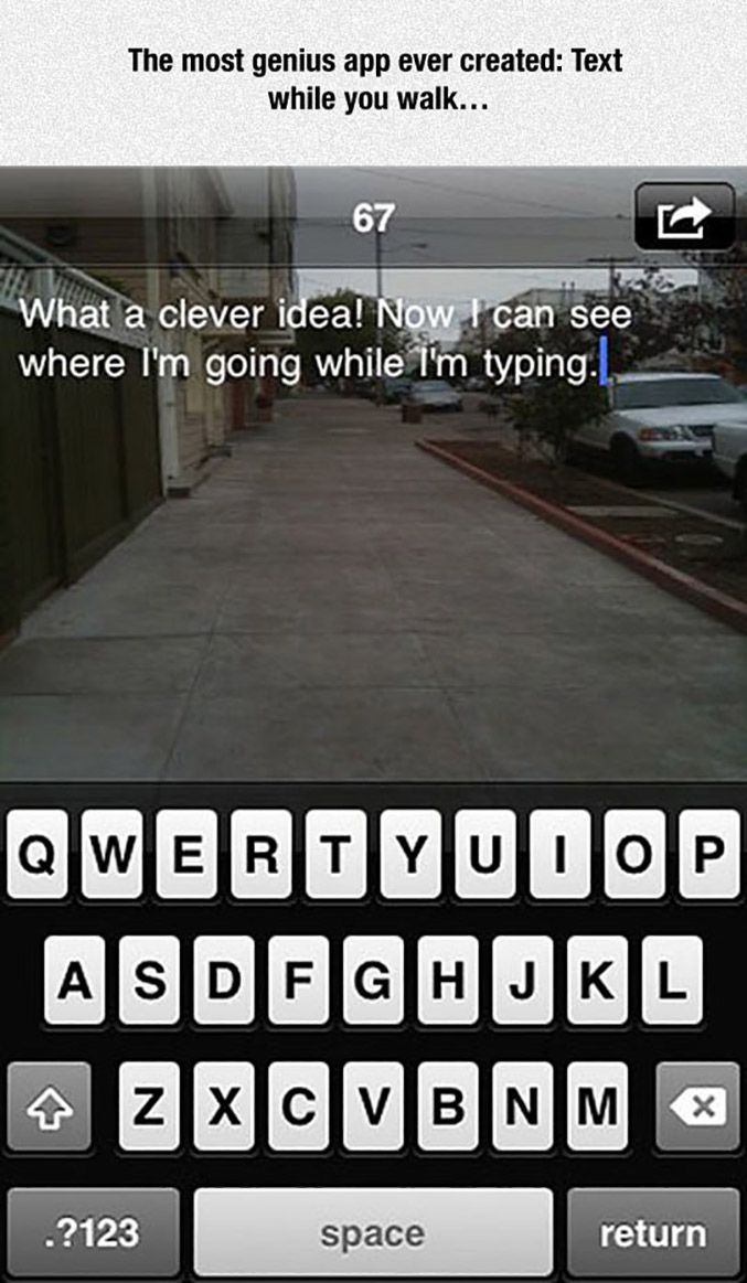 How messaging apps should work... Cool Things Funny