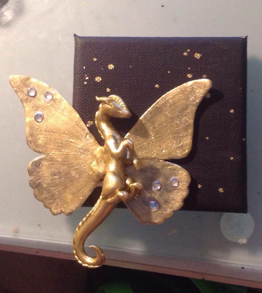 Golden Dragon Clay