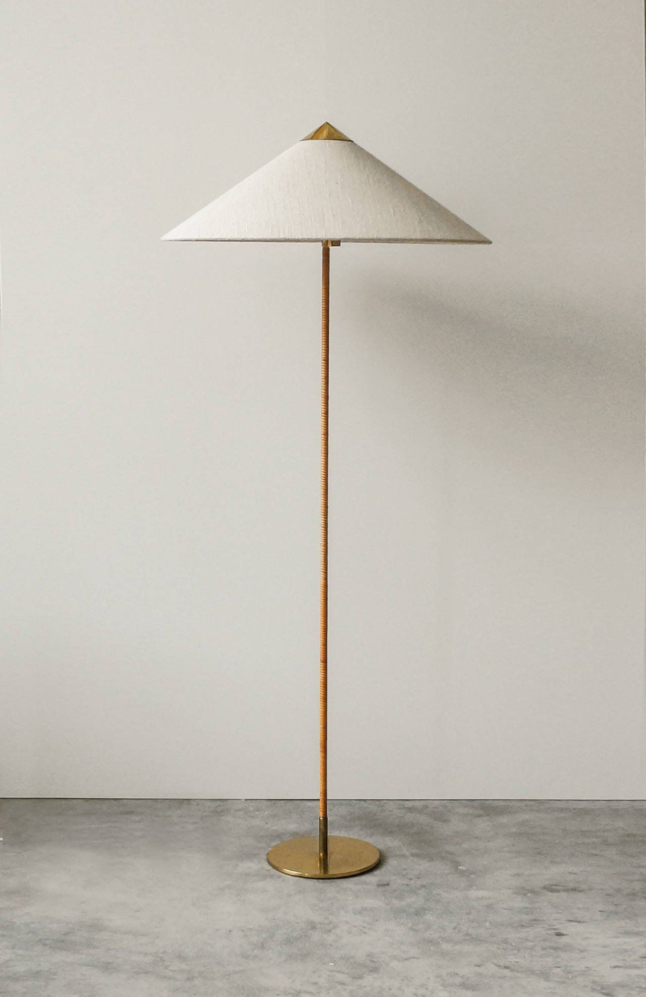 Paavo Tynell Floor Lamp For Taito Model 9602 1940s The Exchange Int Floor Lamp Contemporary Floor Lamps Modern Lamp