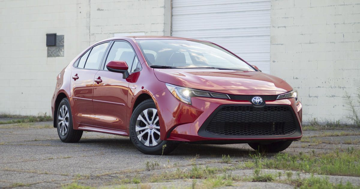 2020 Toyota Corolla Hybrid Review Sip With Subtlety Toyota Corolla Hyundai Toyota Prius