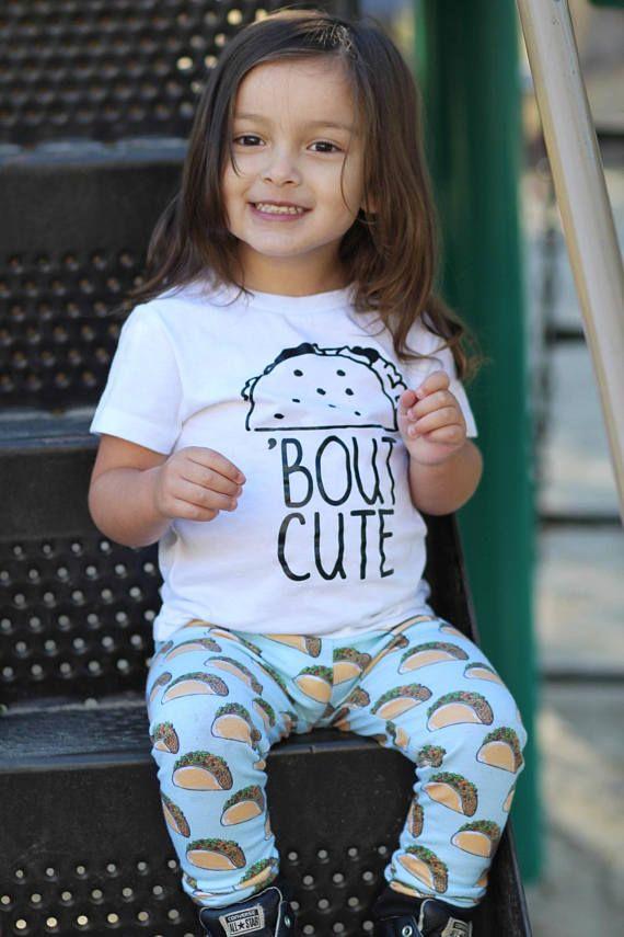 1f3154c10 Taco Shirt - Kids Tshirt - Taco Bout Cute - Gender Neutral - Trendy Kids  Clothes - Boy - Girl - Todd