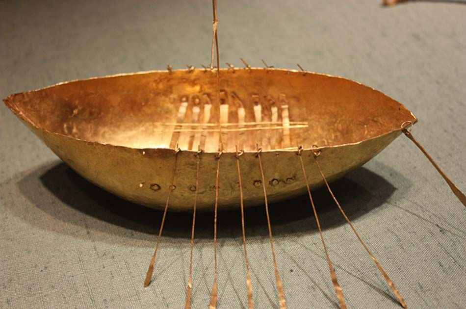 Golden Gifts to a Sea God: The Broighter Hoard and Its Mysterious Golden Boat