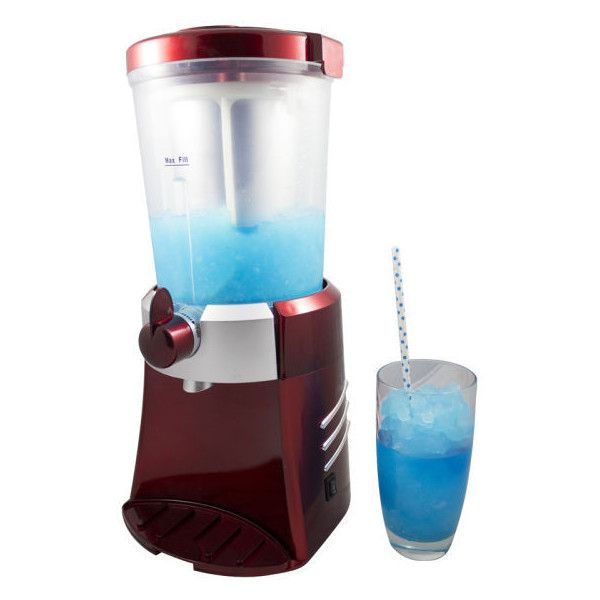 Gourmet Gadgetry Retro Diner Slush Maker (150 BRL) ❤ liked on Polyvore featuring home, kitchen & dining and small appliances