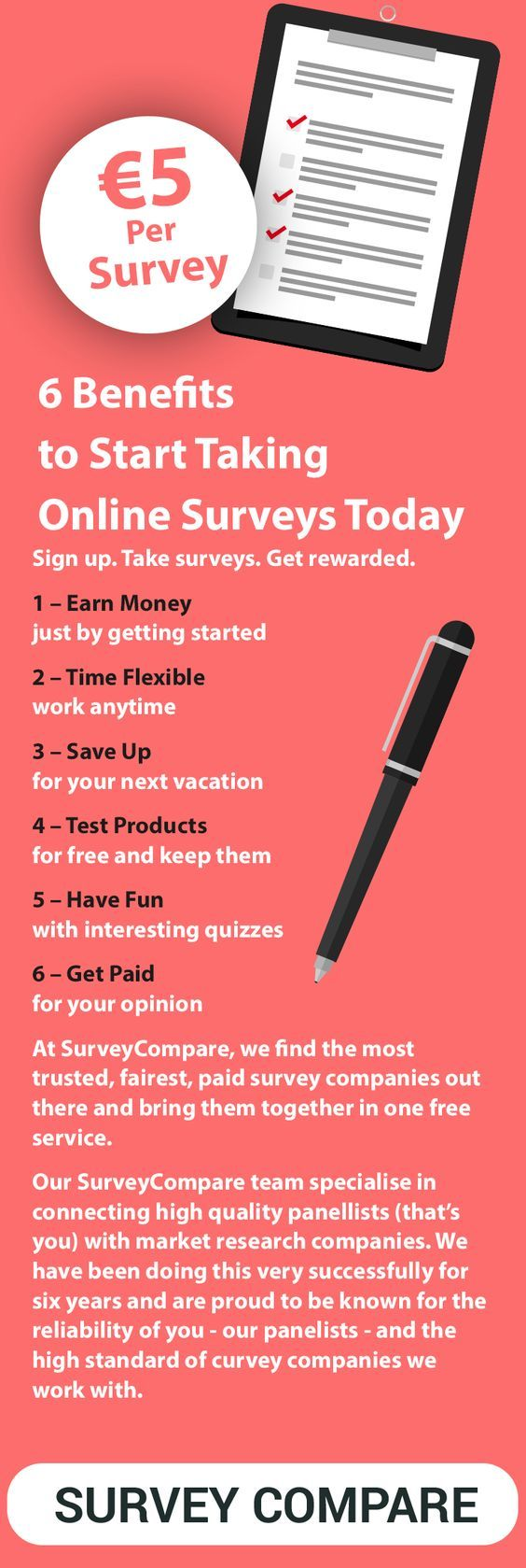 The most money you can earn with online surveys and get