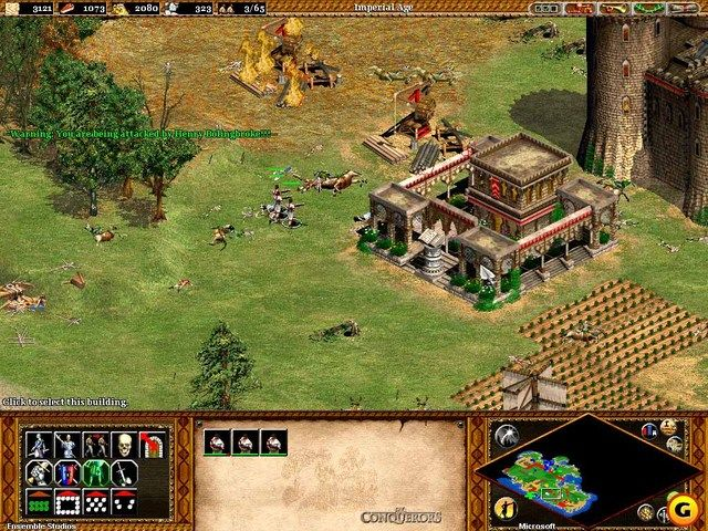 Age Of Empires Ii The Age Of Kings Screenshot Age Of King Empire