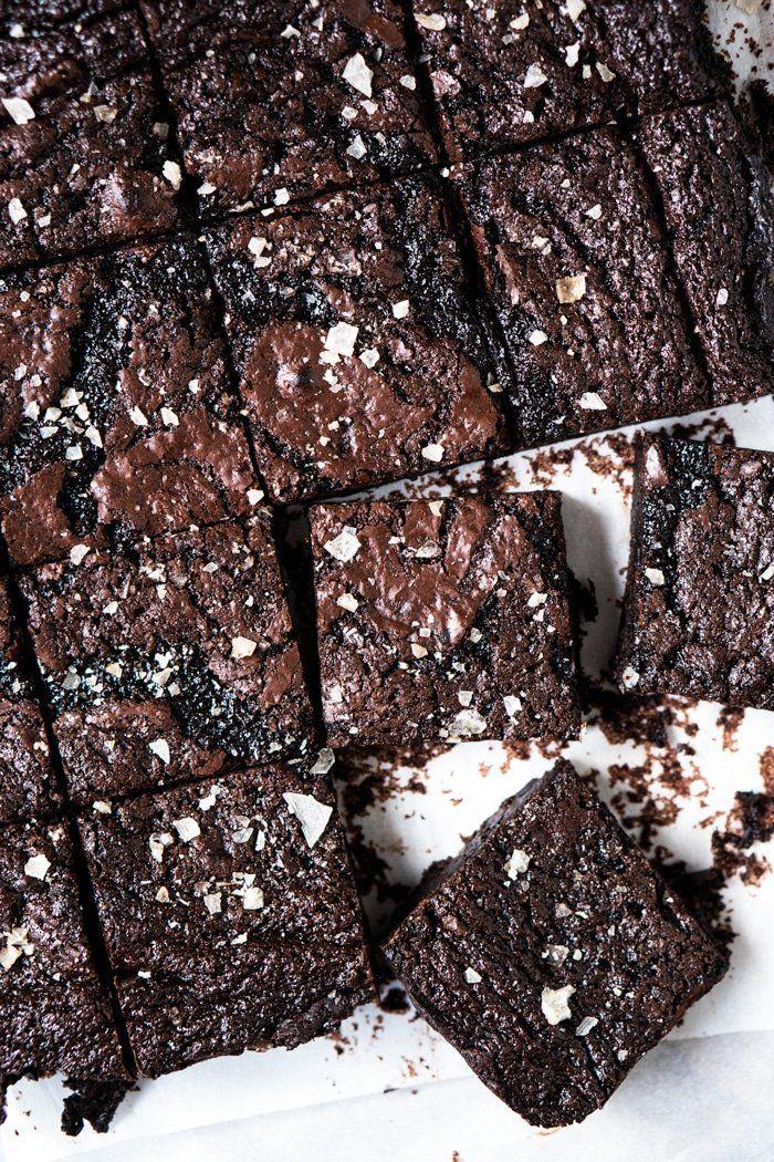 Suuuper Fudgy Gluten Free, Paleo amp Keto Brownies