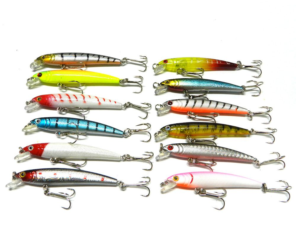 top selling swimming fishing lures plastic lures hard baits fishing bait minnow 7.5cm 5.6grams 12colors  Price: US $1.52Discount: 10%Order Now   http://gonefishinonline.co.nz/top-selling-swimming-fishing-lures-plastic-lures-hard-baits-fishing-bait-minnow-7-5cm-5-6grams-12colors/
