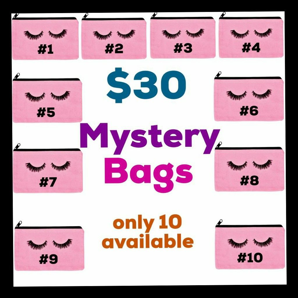 Mystery Glam bags in 2020 Glam bag, Mystery bag