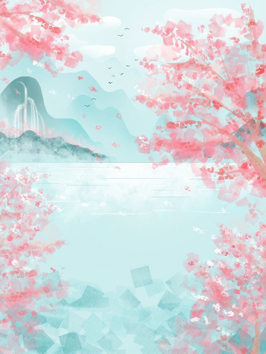 Beautiful Spring Cherry Blossom Background Design In 2021 Cherry Blossom Background Cherry Blossom Art Cherry Blossom Wallpaper 21 anime sakura wallpaper