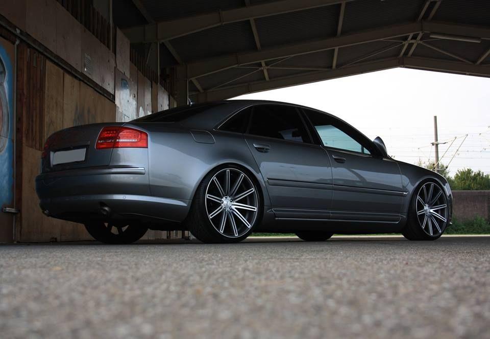 22 Vossen Cv4 On Audi A8 Customer Submissions Teamvossen