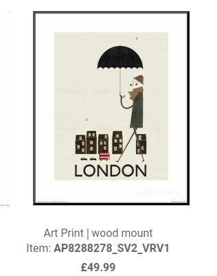 Blanca gomez skinny frame London allposters.co.uk