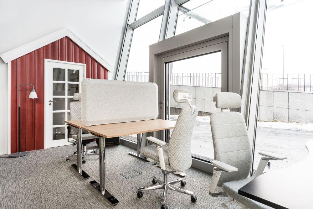 Kinnarps cracovie bureaux oberon sièges capella inspiration