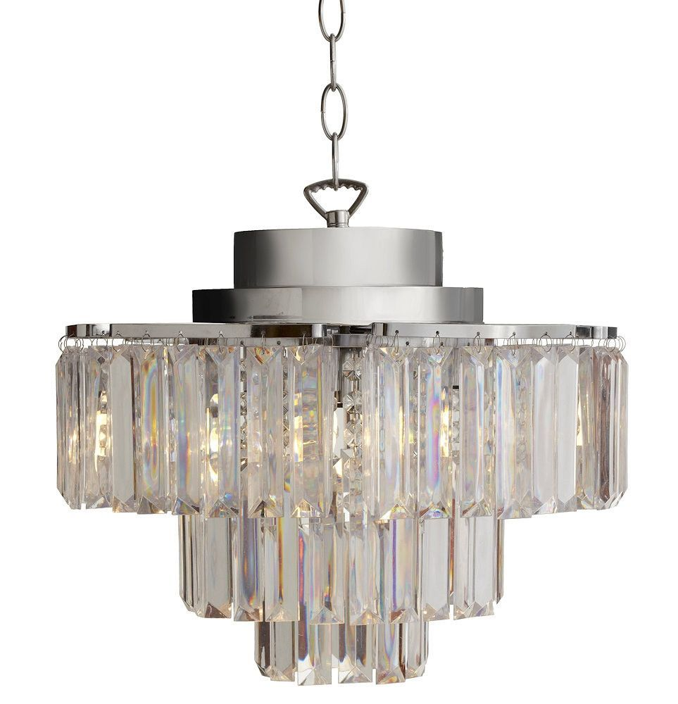 Prism 4 Light Wireless Led Chandelier