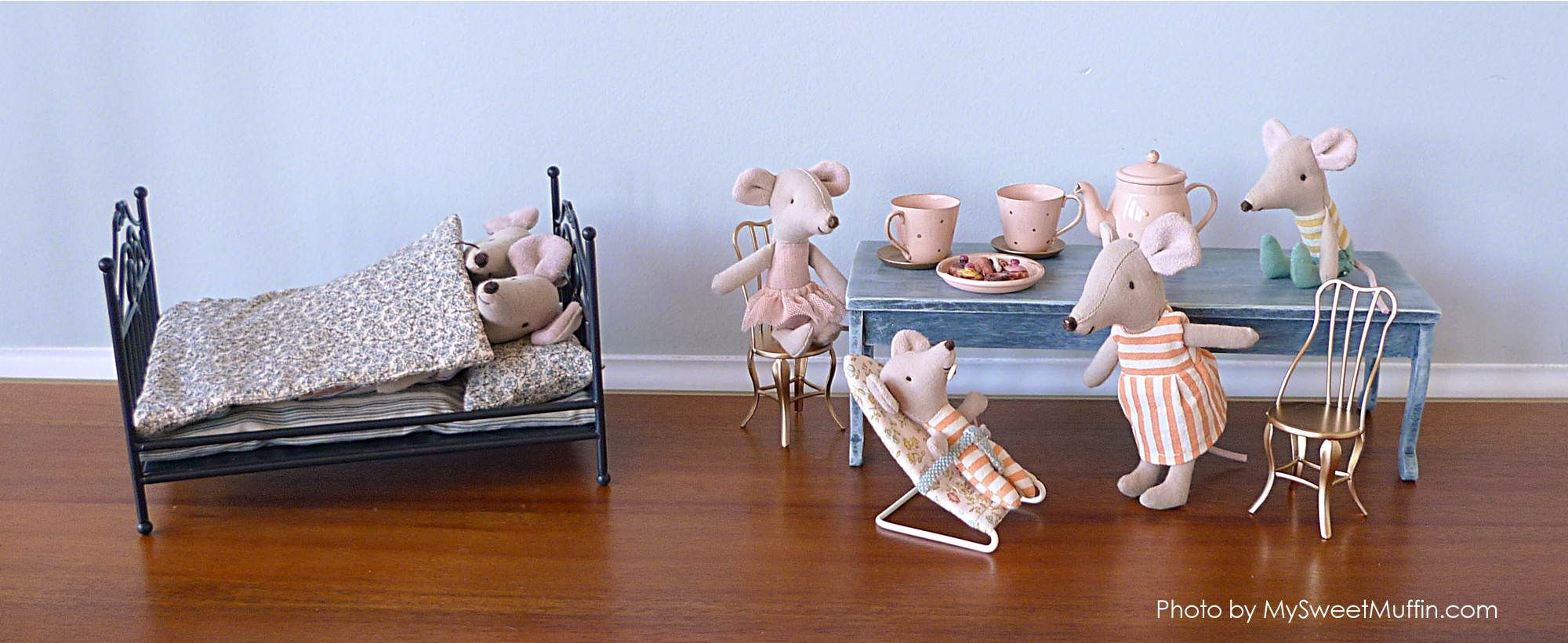 8b980f49fb76 Micro size furniture for Maileg Mouse Family! | Maileg | Doll ...