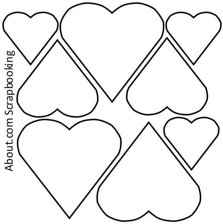 12 Free Printable Templates Heart Patterns Printable Printable