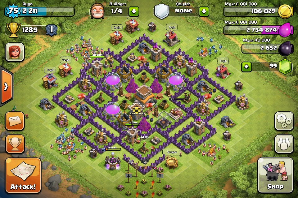 Strategi Base Coc Th 8 9