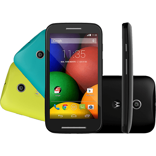Smartphone Motorola Moto E DTV Colors Dual Chip ...