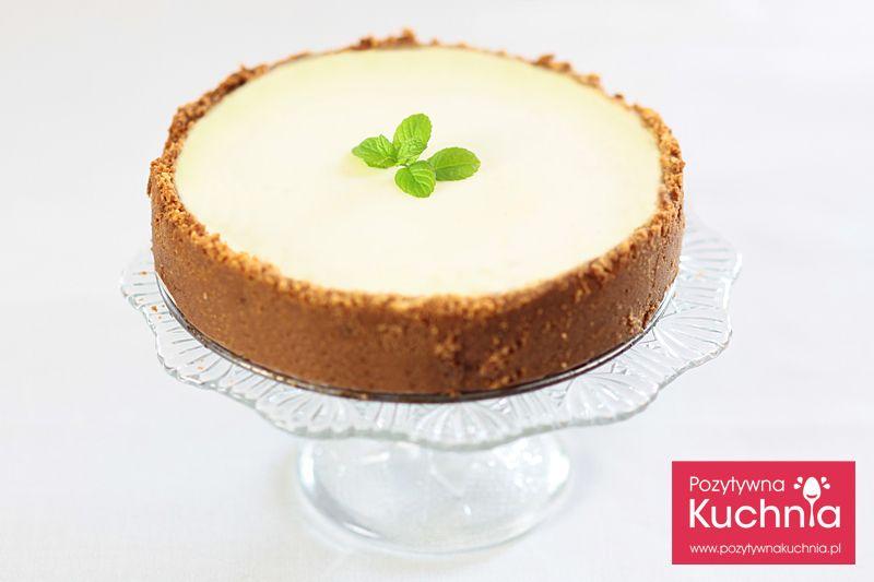Sernik Nowojorski Przepis Dorota Kaminska Recipe Desserts Cheesecake New York Cheesecake