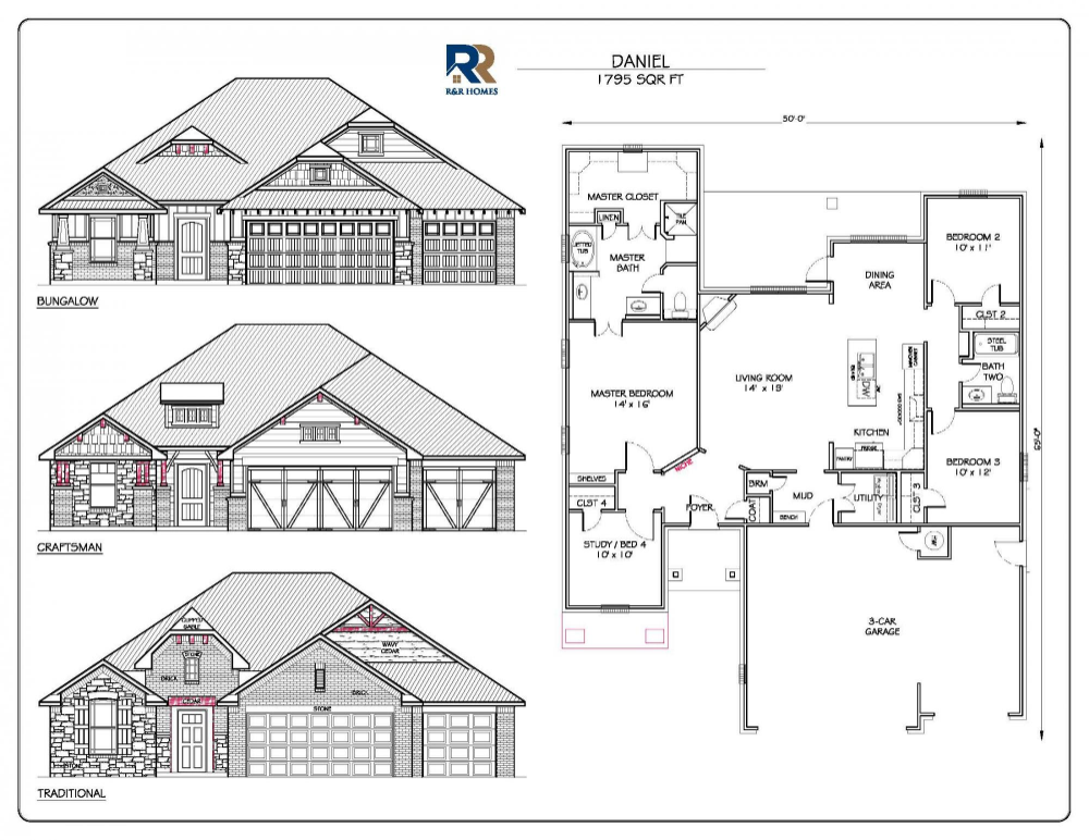 Daniel 1795 Oklahoma City Home Builders Love This Plan Home Builders Floor Plans Floor Plan Design