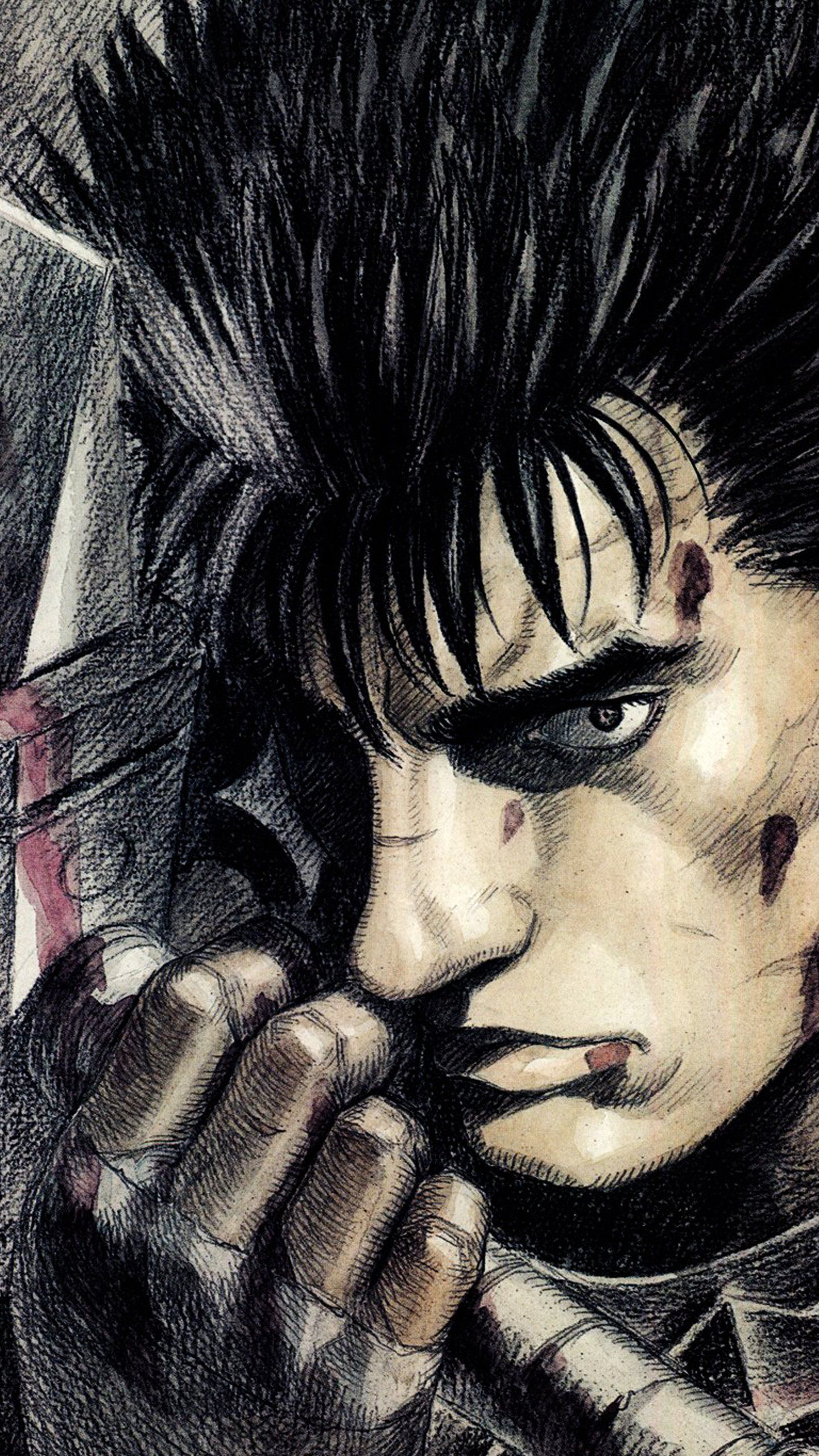 Guts From Berserk Mobilewallpaper Berserk Guts Mobilewallpaper Berserk Concept Art Characters 4k Phone Wallpapers