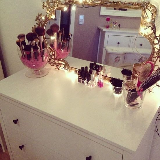 How To Organize Your Bathroom Vanity: Organize A Vanity Table My-House-My-Home