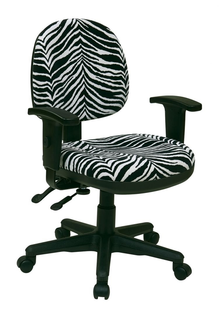 Zebra Desk Chair Attentiongrabbing Zebra Office Chair Furniture On Home Decoration