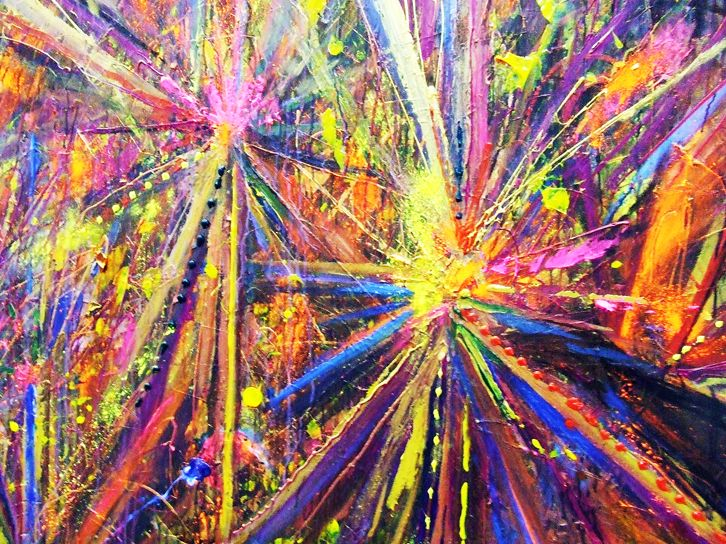 Action Painting Art