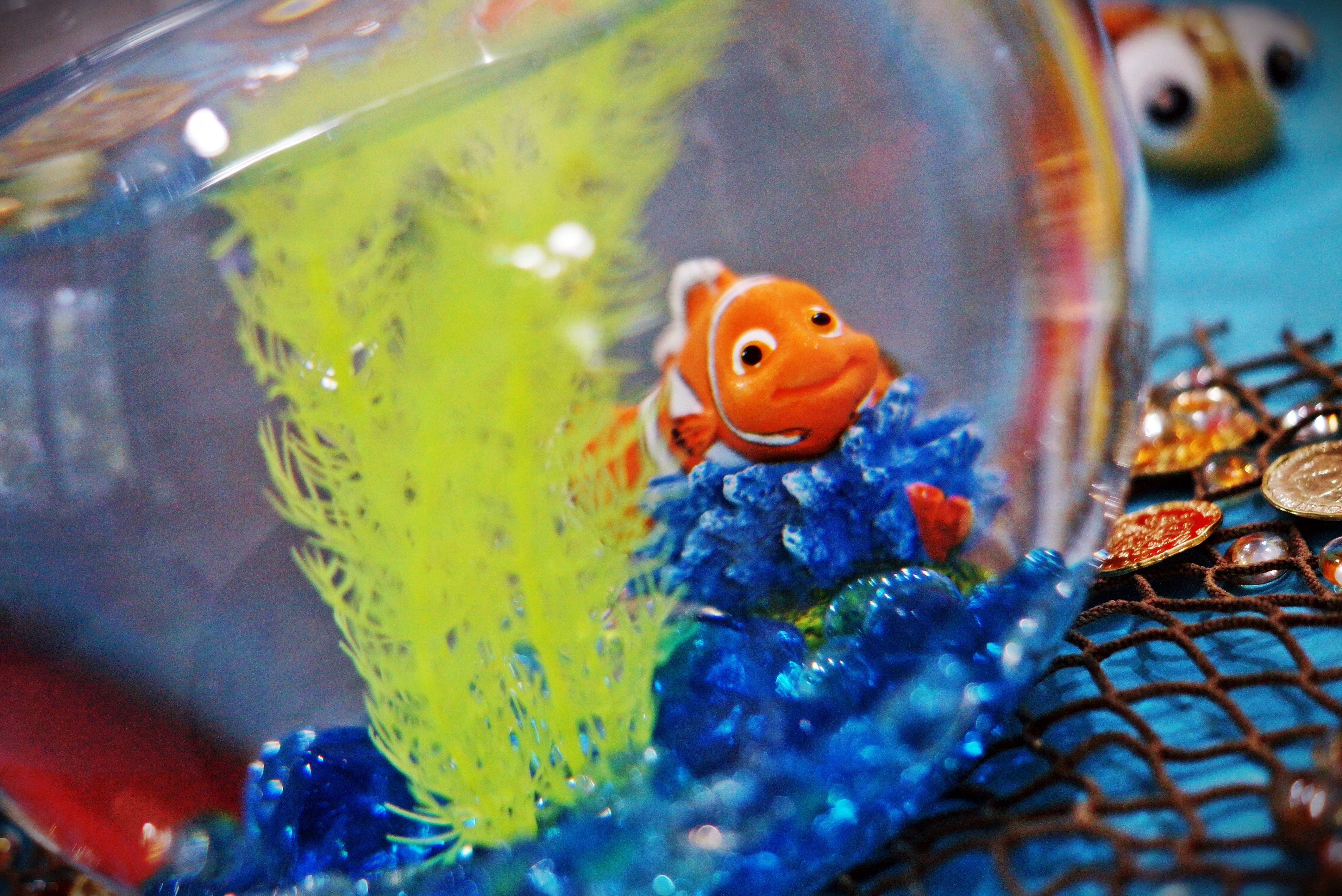Finding Nemo Fish Bowl Centerpiece