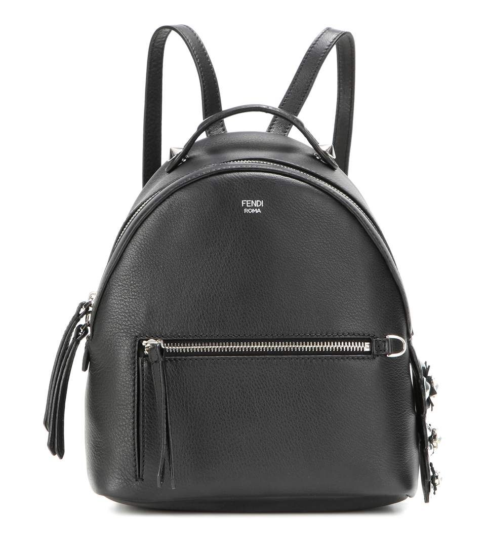 By The Way Mini black leather backpack  79fad08066581