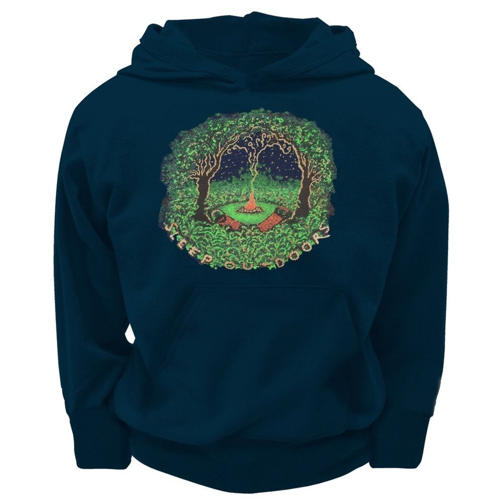 Little Hippie - Sleep Outdoors Youth Hoodie
