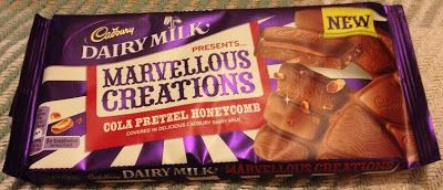Cadbury Marvellous Creation Cola Pretzel Honeycomb In 2019