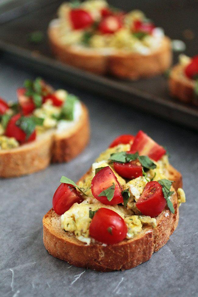 Breakfast Bruschetta