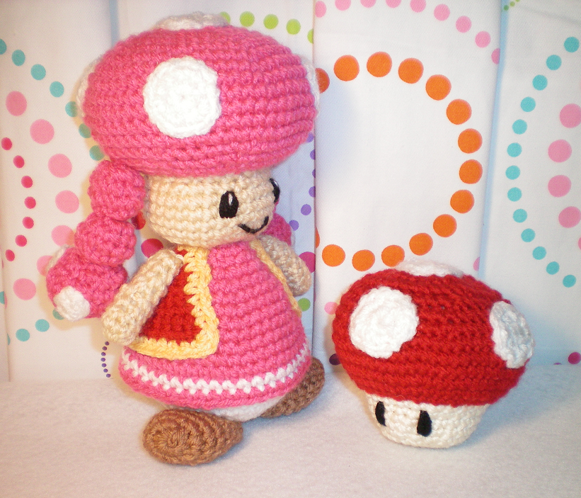 Beautiful, sweet Toadette is another character from the Mario Brothers series. I think she turned out absolutely adorable! By far one of my ...