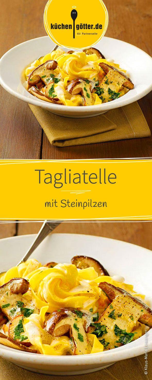 Photo of Tagliatelle with porcini mushrooms
