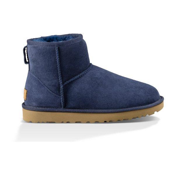 blue mini ugg boots