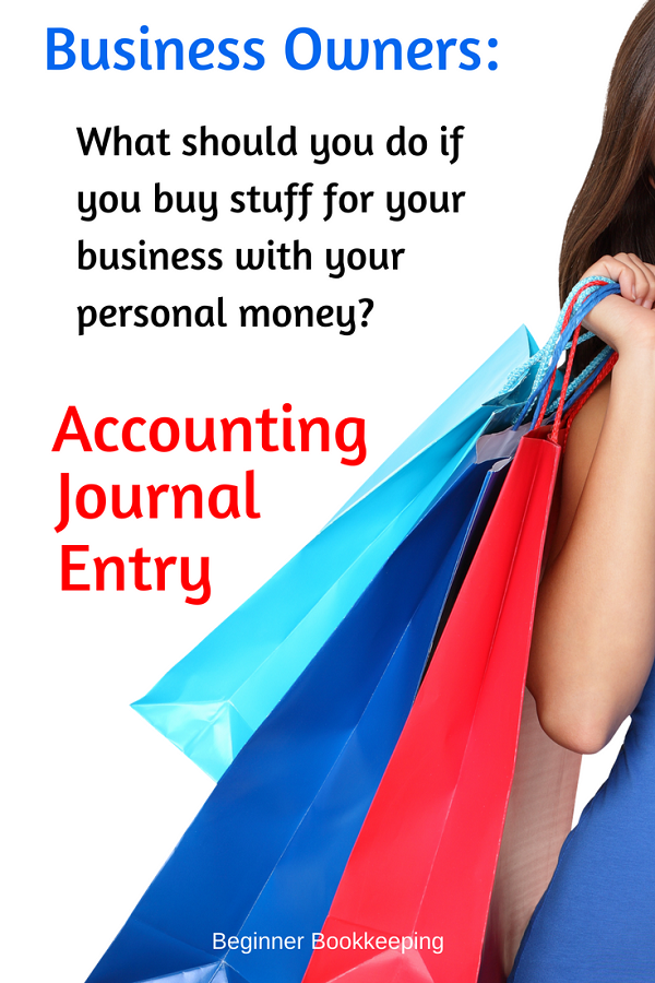 examples of accounting journal entries for small business bookkeeping