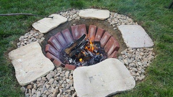 Feuerstelle selber bauen in 4 einfachen Schritten | DIY ...